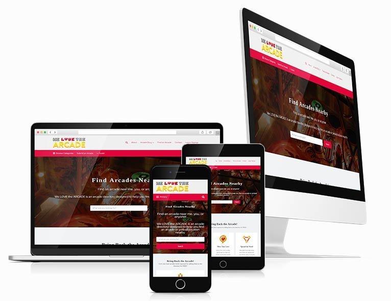 Responsive Directory Website