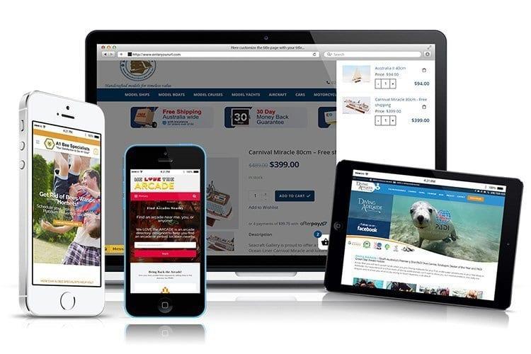 Bocain Design Website Portfolio