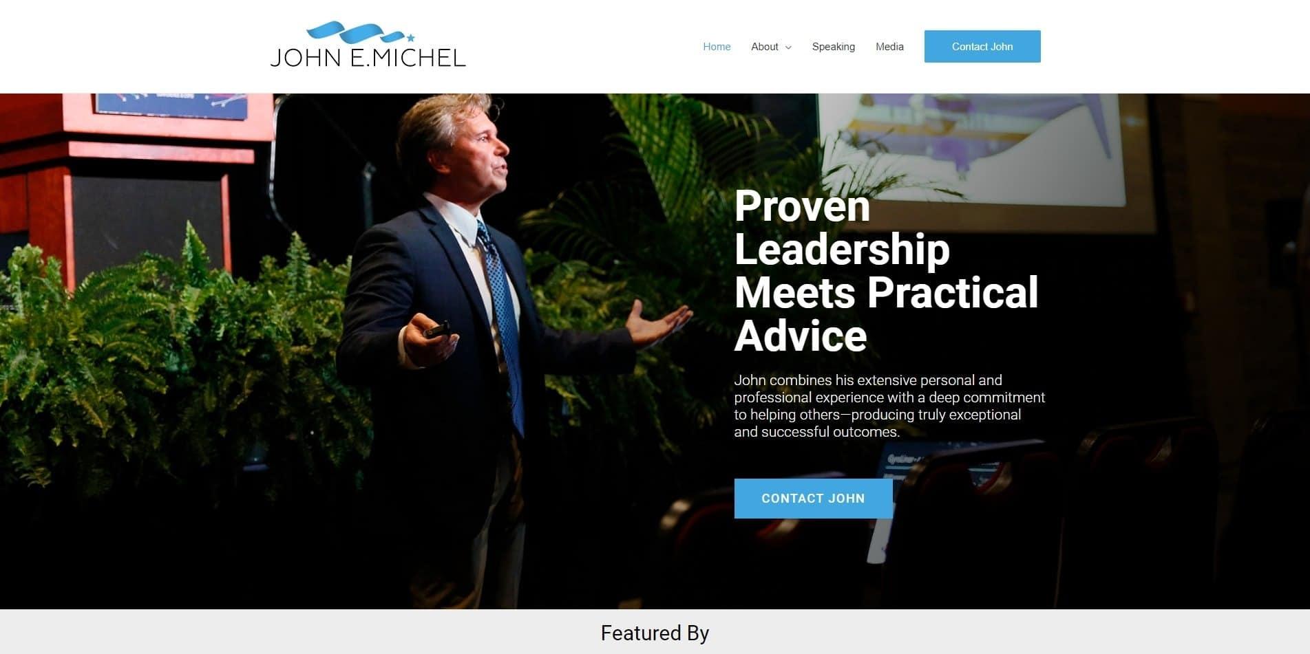 Speaker Website