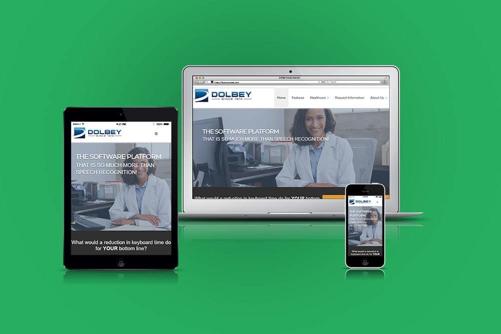 Software company responsive website design