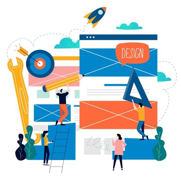 landing page design services